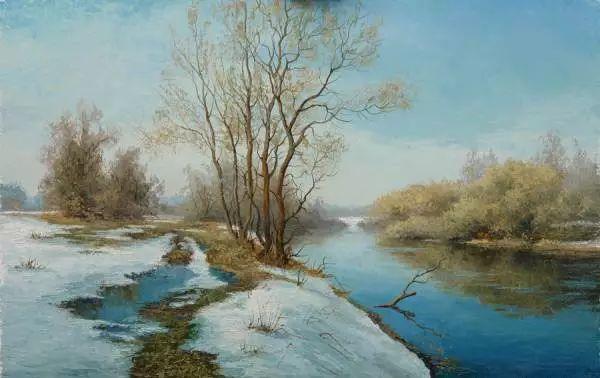俄罗斯Eugene Burmakin风景画欣赏插图31