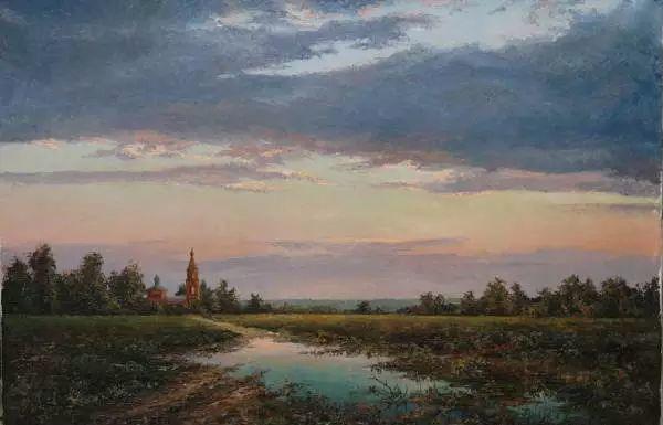 俄罗斯Eugene Burmakin风景画欣赏插图33