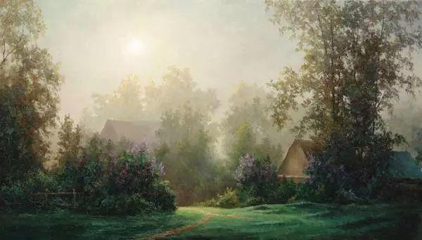 俄罗斯Eugene Burmakin风景画欣赏插图35