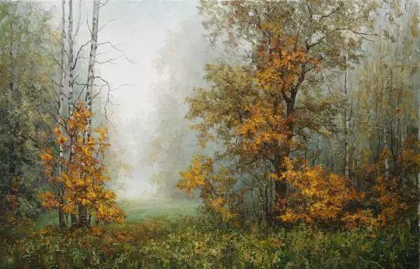 俄罗斯Eugene Burmakin风景画欣赏插图37