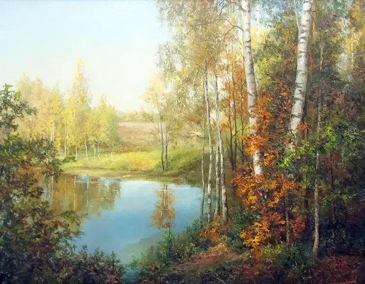 俄罗斯Eugene Burmakin风景画欣赏插图41
