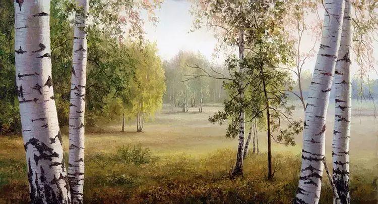 俄罗斯Eugene Burmakin风景画欣赏插图51