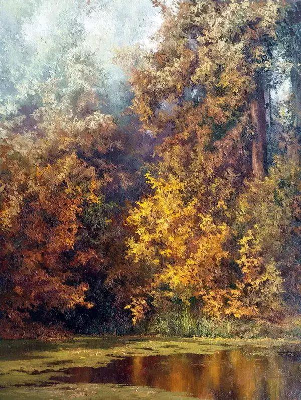俄罗斯Eugene Burmakin风景画欣赏插图55