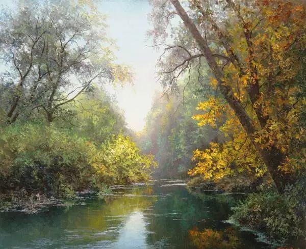 俄罗斯Eugene Burmakin风景画欣赏插图57