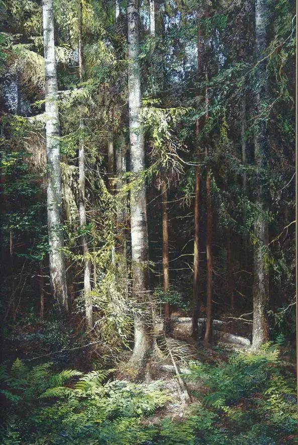 俄罗斯Eugene Burmakin风景画欣赏插图59