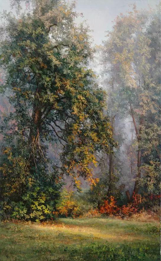 俄罗斯Eugene Burmakin风景画欣赏插图67