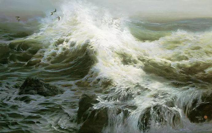 画家笔下心中的海插图3