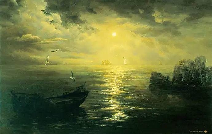 画家笔下心中的海插图5