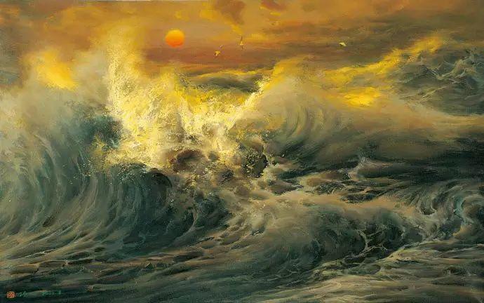 画家笔下心中的海插图7
