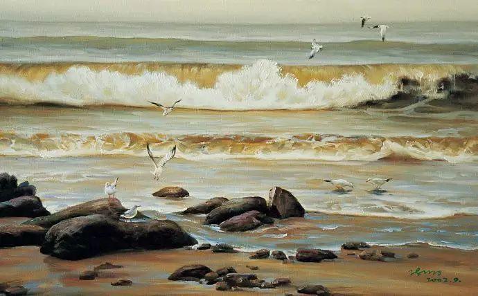 画家笔下心中的海插图9