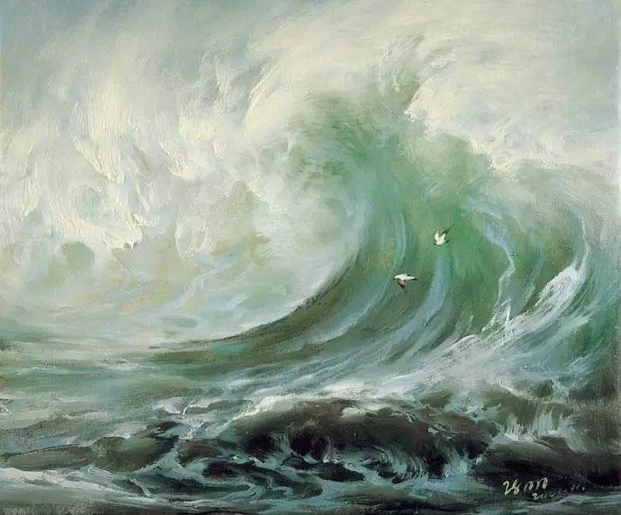 画家笔下心中的海插图15
