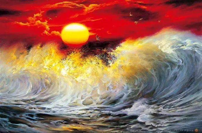 画家笔下心中的海插图17