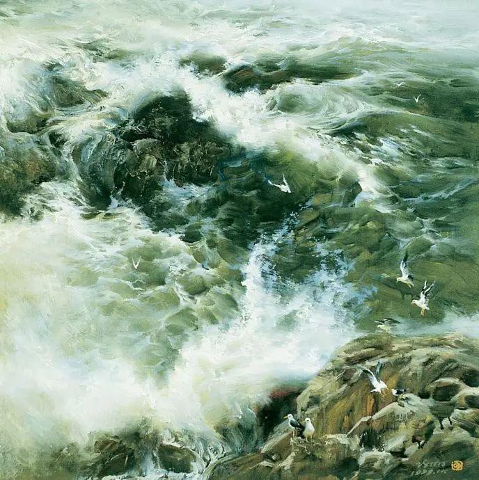 画家笔下心中的海插图19