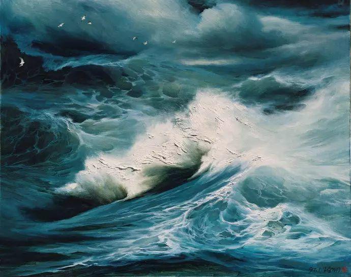画家笔下心中的海插图21