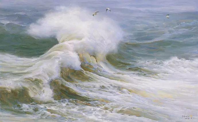 画家笔下心中的海插图23