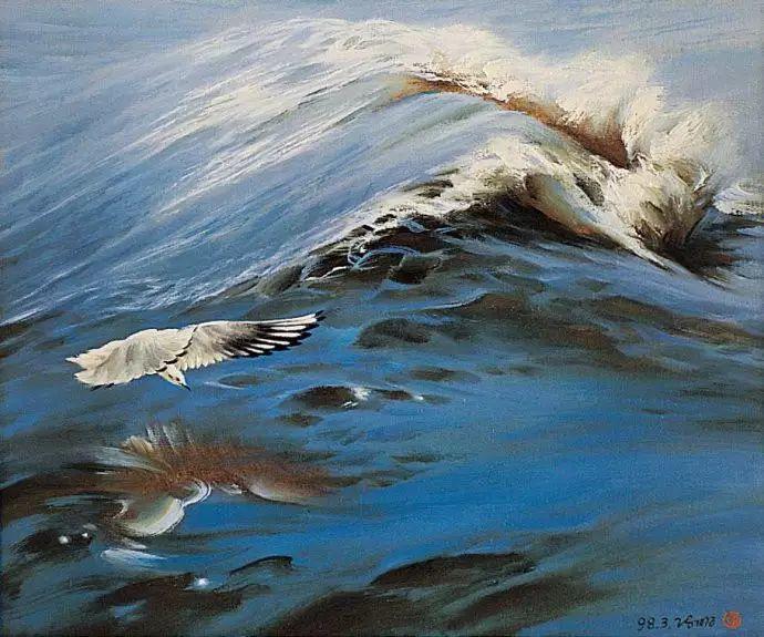 画家笔下心中的海插图25