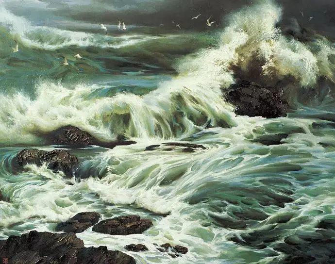 画家笔下心中的海插图29