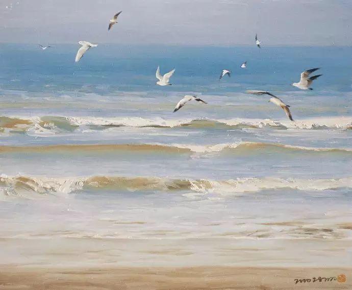 画家笔下心中的海插图31