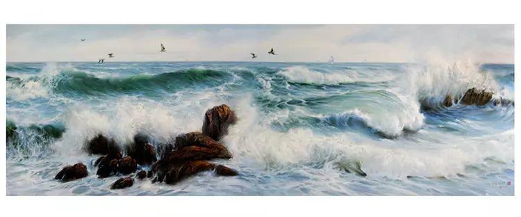 画家笔下心中的海插图33