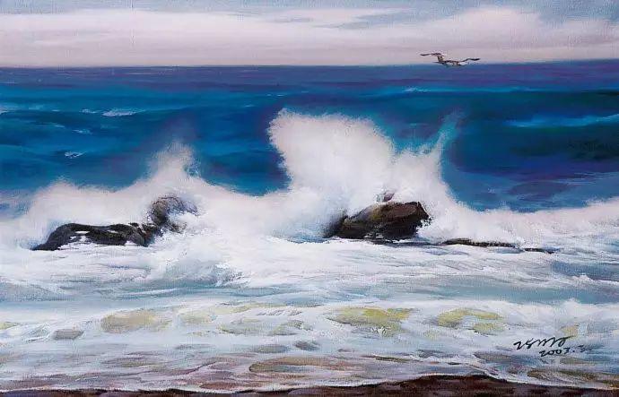 画家笔下心中的海插图35