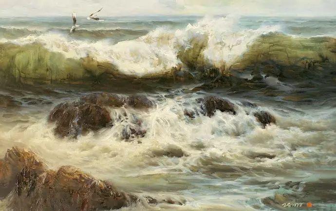 画家笔下心中的海插图37