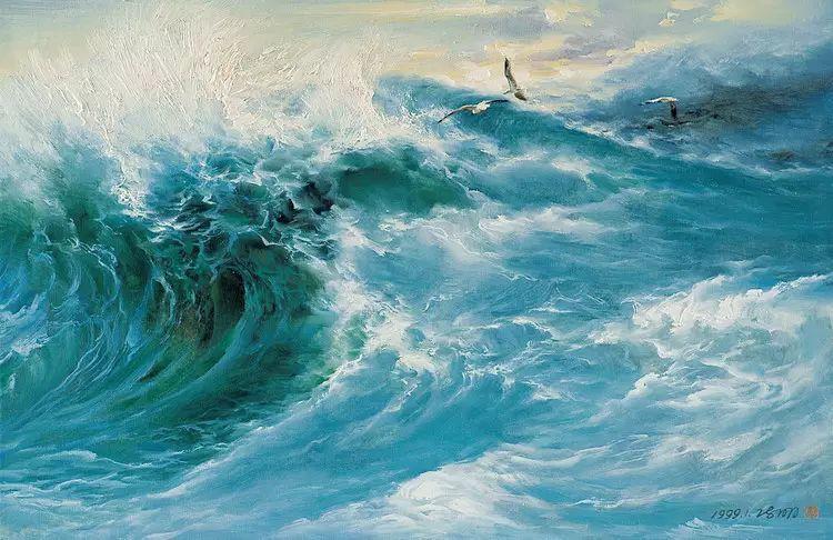 画家笔下心中的海插图39