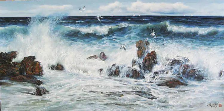 画家笔下心中的海插图41