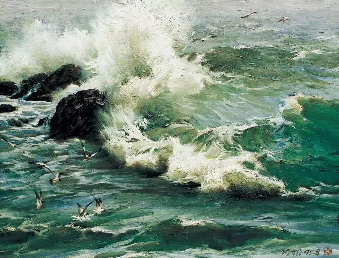 画家笔下心中的海插图43