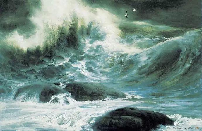 画家笔下心中的海插图45