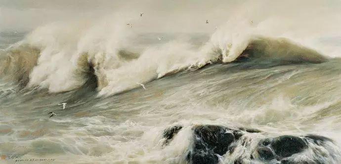 画家笔下心中的海插图49