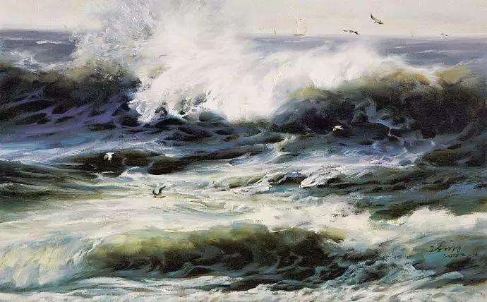 画家笔下心中的海插图51