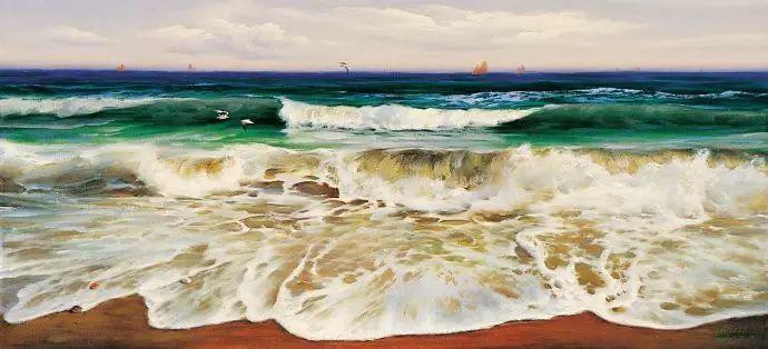 画家笔下心中的海插图53