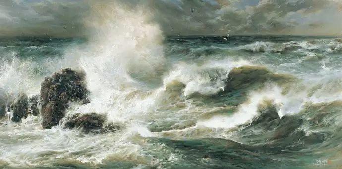 画家笔下心中的海插图57