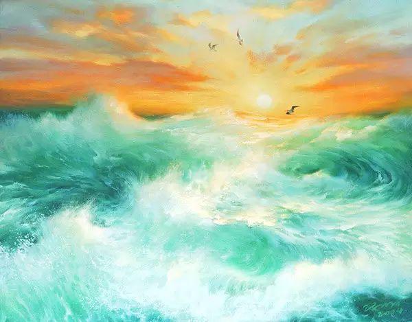 画家笔下心中的海插图59