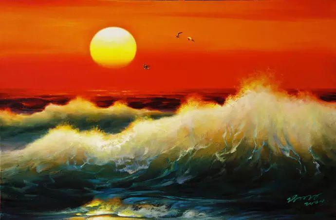 画家笔下心中的海插图69