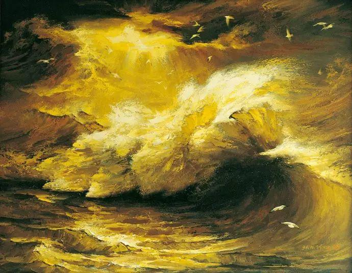 画家笔下心中的海插图75