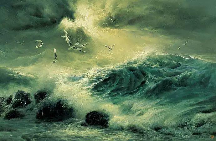 画家笔下心中的海插图77