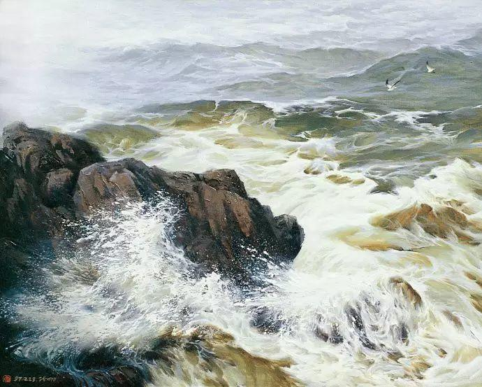 画家笔下心中的海插图79