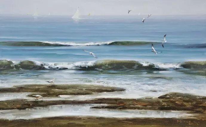 画家笔下心中的海插图87