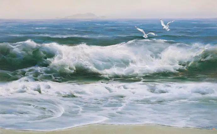 画家笔下心中的海插图89