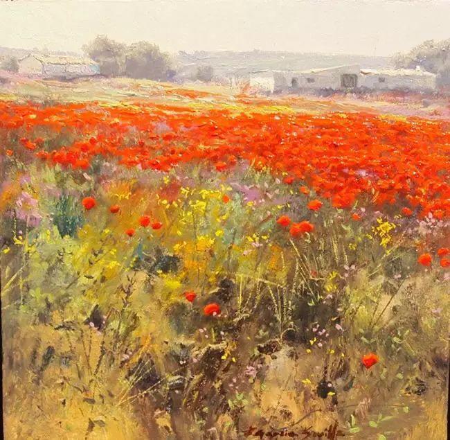 西班牙画家费尔米 garcia sevilla风景画欣赏插图3