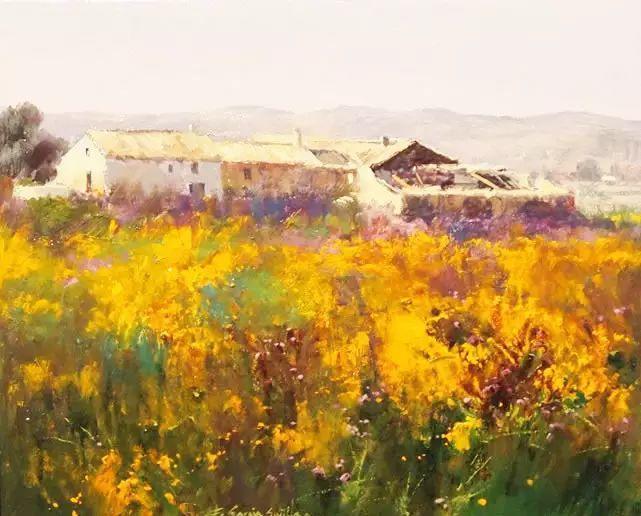 西班牙画家费尔米 garcia sevilla风景画欣赏插图5