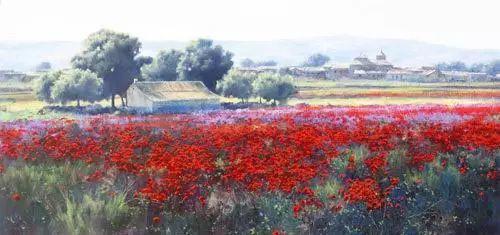 西班牙画家费尔米 garcia sevilla风景画欣赏插图13