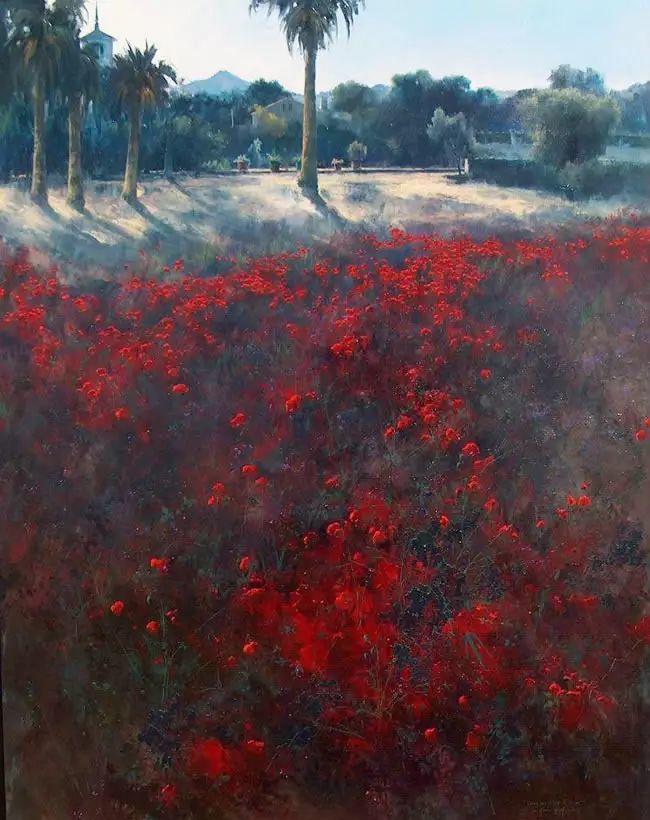 西班牙画家费尔米 garcia sevilla风景画欣赏插图17