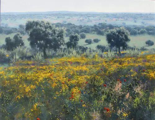 西班牙画家费尔米 garcia sevilla风景画欣赏插图23
