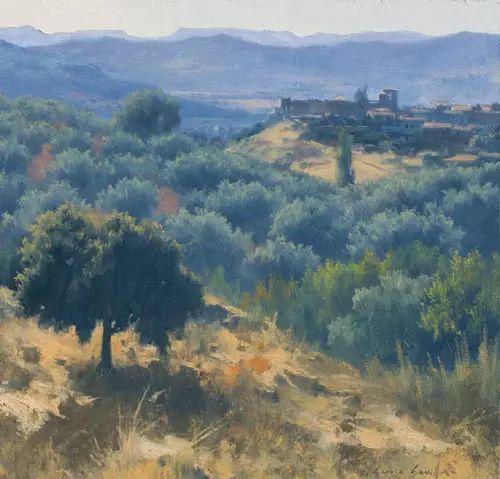 西班牙画家费尔米 garcia sevilla风景画欣赏插图27