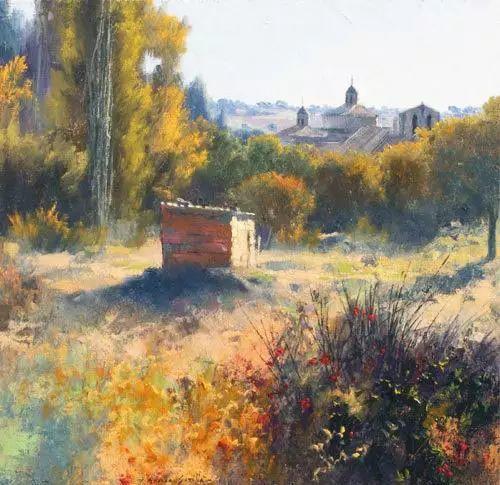 西班牙画家费尔米 garcia sevilla风景画欣赏插图31