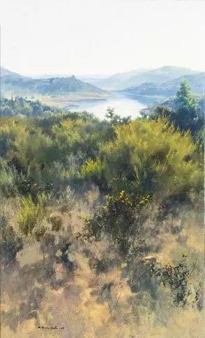 西班牙画家费尔米 garcia sevilla风景画欣赏插图33