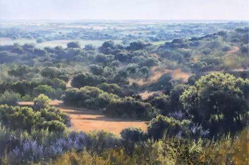 西班牙画家费尔米 garcia sevilla风景画欣赏插图41