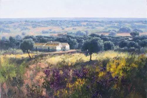 西班牙画家费尔米 garcia sevilla风景画欣赏插图43